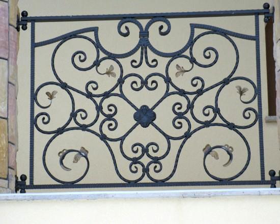 Iron railing 11