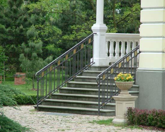 Iron railing 13