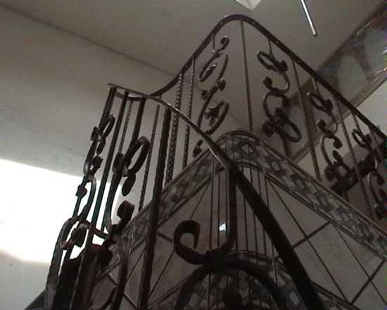 Iron railing 17