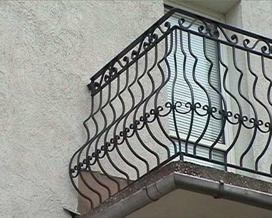 Iron railing 18