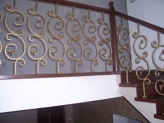 Iron railing 24