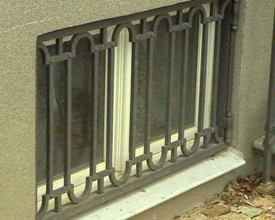 Wrought iron grating 2