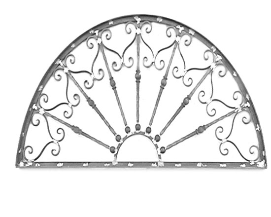 Wrought iron grating 3