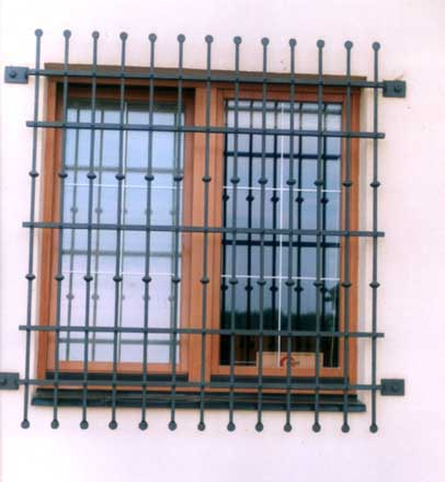 Wrought iron grating 4