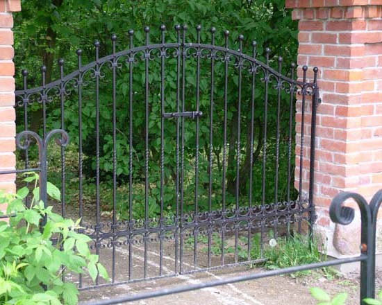 Wrought iron fence 11