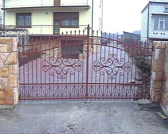 Wrought iron fence 19