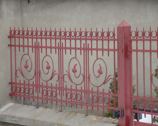Wrought iron fence 28