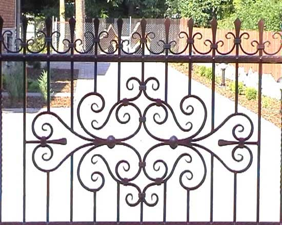 Wrought iron fence 29