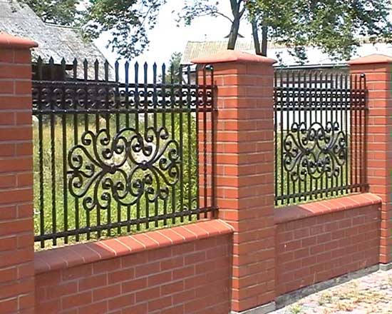 Wrought iron fence 31