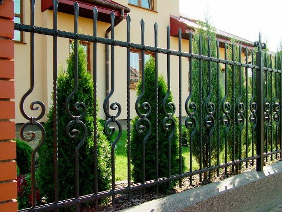 Wrought iron fence 34