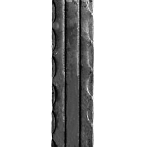 802 - płaskownik podkuwany z rowkami